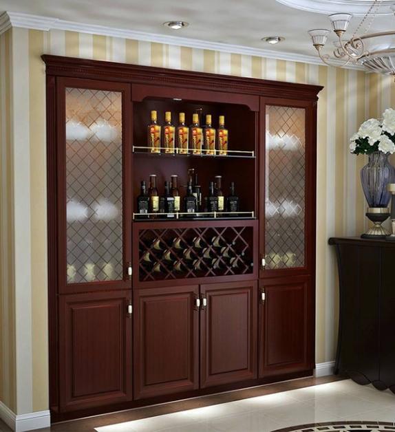 入墙式酒柜